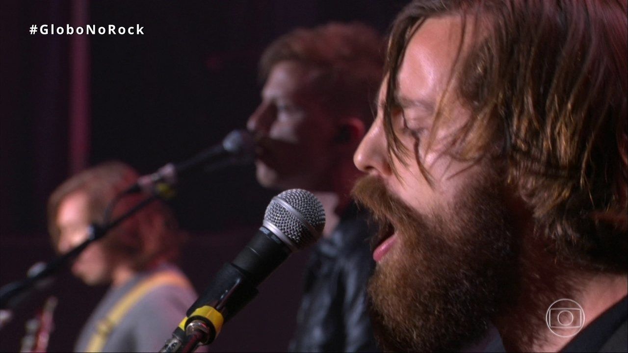 Scalene canta 'Náufrago' no Palco Mundo do Rock in Rio